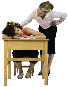 Tired in class?