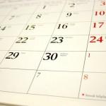 college student calendar