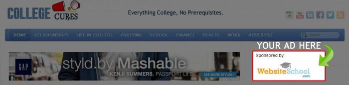 Example Site Sponsorship