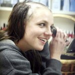 Britney Spears shaving her head