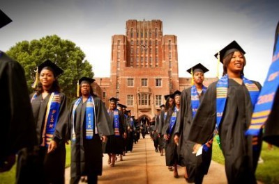 graduate students of hbcu walking