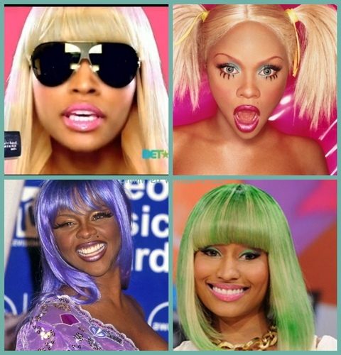Nicki Minaj and Lil' Kim