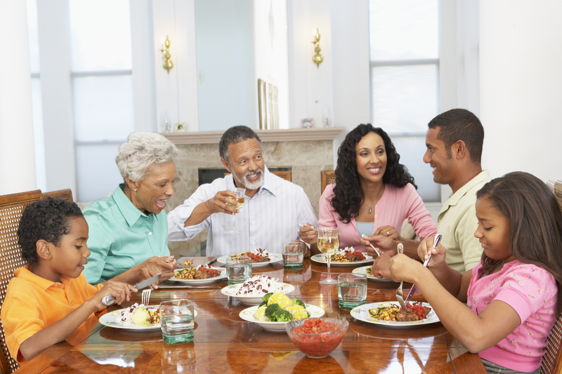 Meet the parents issues with mixing your relationship for Family diner