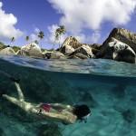 snorkeling on spring break