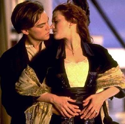 Titanic Love Scene