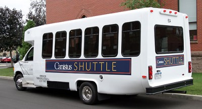 College shuttle
