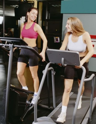 Girls on Treadmills