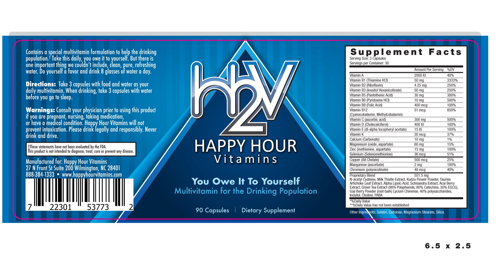 Product Review: Happy Hour Vitamins - College Cures
