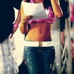 college fashion, midriff, fashion,