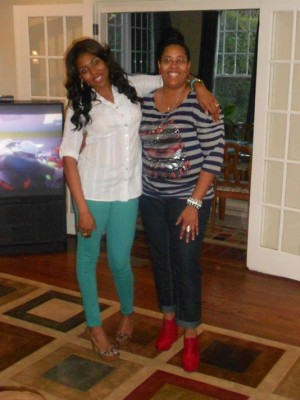 mother and daughter graduate college