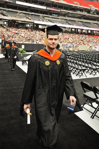 Student Graduating Spring 2011