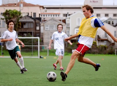 Try your hand at intramural sports.