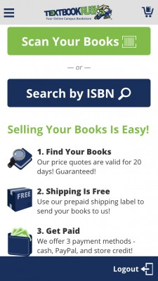 Sell Your Textbooks With TextbookRush's New App