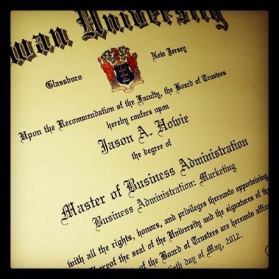 MBA Degree Benefit