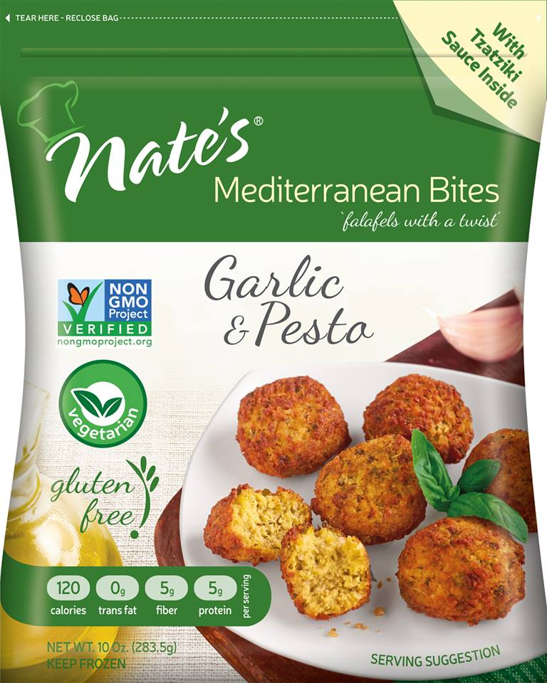 Nate's Mediterranean Bites Bring Flavor Back to the Freezer Aisle